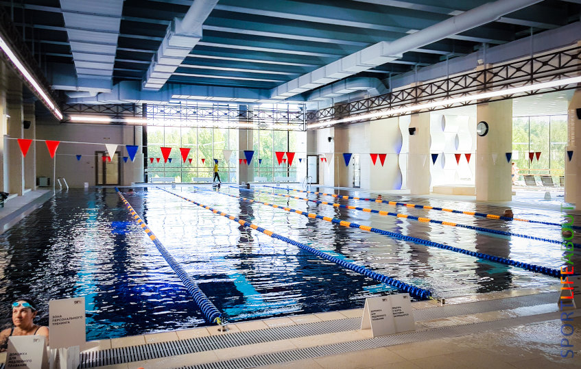 Отзывы о «SPORTLIFE» на Маршала Захарова - плавательный бассейн с чистой водой размером 25 метров