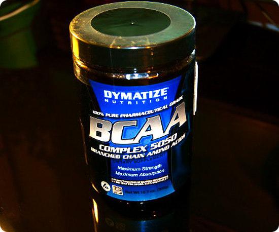Запечатанная упаковка Dymatize BCAA complex 5050