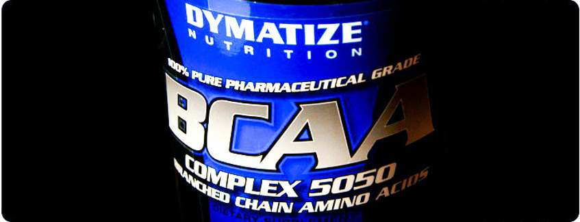 Логотип Dymatize BCAA complex 5050