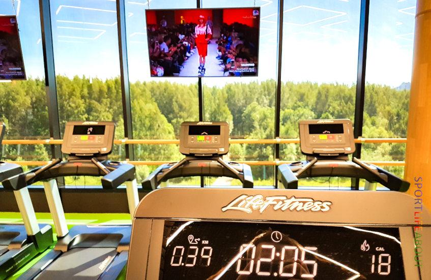 Отзывы о «Спортлайф» на Маршала Захарова - беговые дорожки и эллипсы Life Fitness